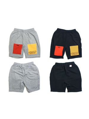 IRIE by irielife(アイリーバイアイリーライフ)/ PATCH SWEAT SHORTS