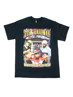 MIGHTY JAM ROCK RAP T-SHIRT -BLACK-