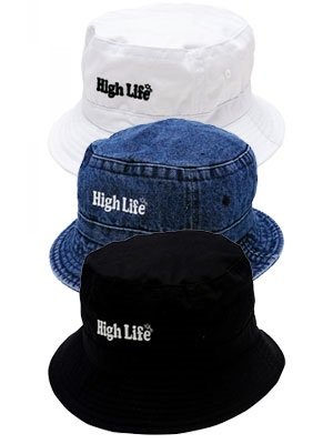 High Life(ハイライフ)/ MAIN LOGO BUCKET HAT