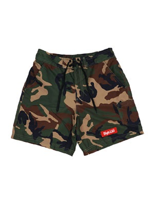 HIGH LIFE(ハイライフ)/ SWIM SHORTS -WOODLANDCAMO-
