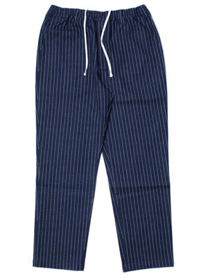 Cheers(チアーズ)/ DENIM STRIPE TEPS -NAVY-