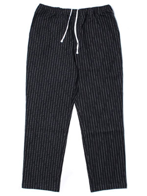 Cheers(チアーズ)/ DENIM STRIPE TEPS -BLACK-