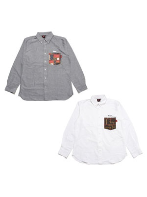 MURAL(ミューラル)/ MONOGRAM POCKET SHIRT