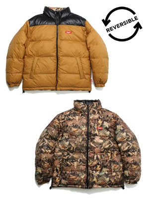 MURAL(ミューラル)/ RV DOWN JACKET -BEIGE-