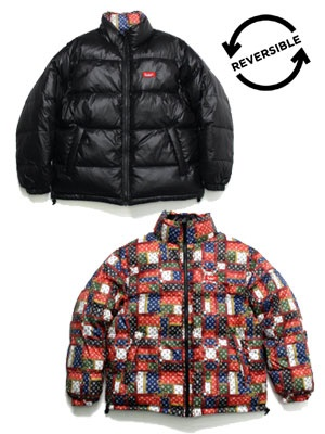 MURAL(ミューラル)/ RV DOWN JACKET -BLACK-