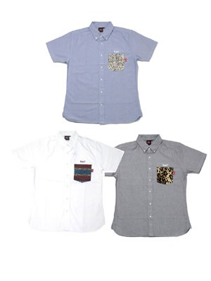 MURAL(ミューラル)/ OX POCKET S/S SHIRT