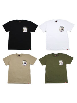 MURAL(ミューラル)/ DRAWING POCKET T-SHIRT