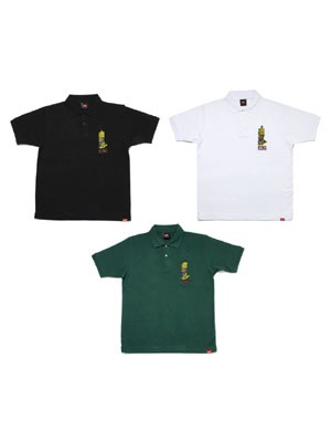 MURAL(ミューラル)/ KING EMBROIDERY POLO SHIRT