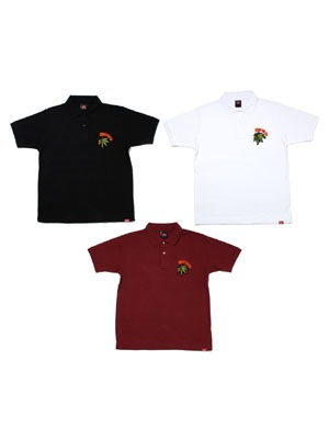 MURAL(ミューラル)/ BS EMBROIDERY POLO SHIRT