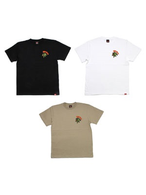 MURAL(ミューラル)/ BS EMBROIDERY T-SHIRT