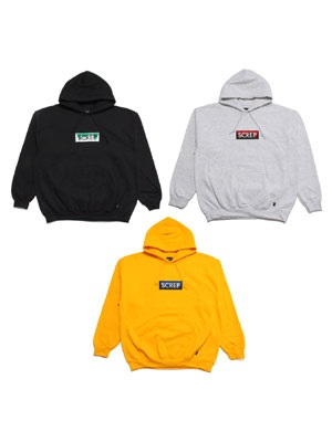 SCREP(スクレップ)/ GRAPPLE BOX HOODY