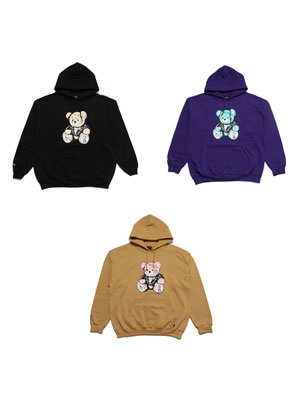 SCREP(スクレップ)/ TATOO BEAR HOODY