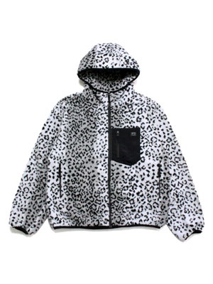 SCREP(スクレップ)/ RETRO BOA JACKET -LEOPARD-