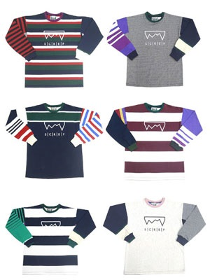 SCREP(スクレップ)/ MULTI RUGBY T-SHIRT -M SIZE-