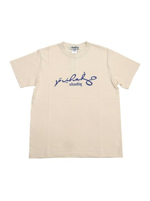 SHADIQ(シャディック)/ EPOCH T-SHIRT -NATURAL-