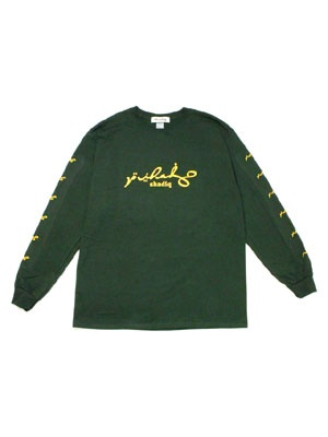 SHADIQ(シャディック)/ EPOCH L/S T-SHIRT -GREEN-