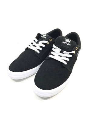SUPRA(スープラ)/ STACKS VULC II -BLACK×BLACK-WHITE
