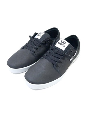 SUPRA(スープラ)/ STACKS -BLACK/GRAY-