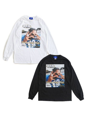1993 DESIGNED WORLD HIPHOP/ 1993 RER WEST L/S TEE