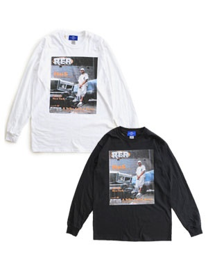 1993 DESIGNED WORLD HIPHOP/ 1993 RER EAST L/S TEE