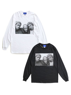 1993 DESIGNED WORLD HIPHOP/ 1993 WORLD TOUR L/S TEE