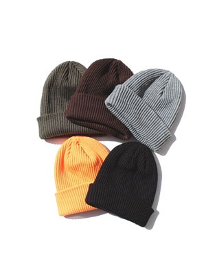 ADVANCE(アドバンス)/ PLANE COLOR BEANIE CAP -5.COLOR-