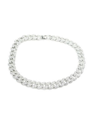 ADVANCE(アドバンス)/ SILVERCHAIN NECKLACE -喜平 CUBIC ZIRCONIA 45cm-