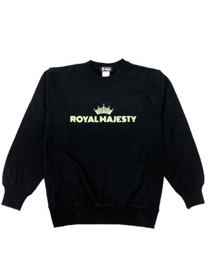 ROYAL MAJESTY(ロイヤルマジェスティー)/ CROWN LOGO SWEAT -Phosphorescent ink-