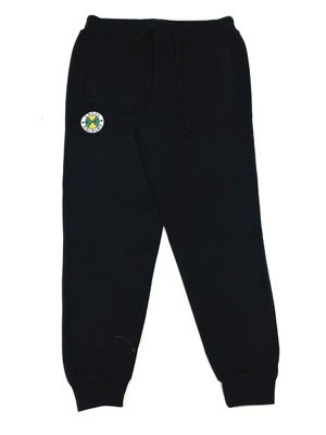 CROSS COLORS(クロスカラーズ)/ CIRCLE LOGO JOGGER PANTS -BLACK-
