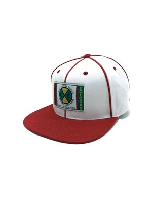 CROSS COLORS(クロスカラーズ)/ CLASSIC SOUTACHE SNAPBACK CAP -WHITE/RED-