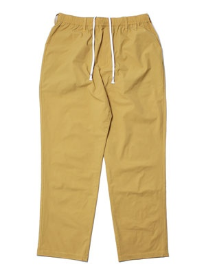 CHEERS(チアーズ)/ POLY STRECH TAPERED EASY PANTS -MUSTARD-