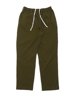 CHEERS(チアーズ)/ POLY STRECH TAPERED EASY PANTS -OLIVE-