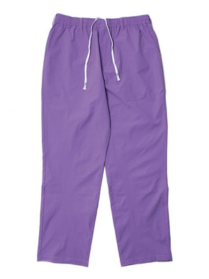 CHEERS(チアーズ)/ POLY STRECH TAPERED EASY PANTS -PURPLE-