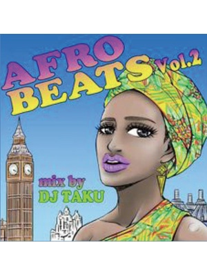 【CD】AFRO BEATS VOL.2 -DJ TAKU from EMPEROR-