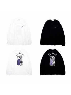 juice(ジュース)/ Fresh Grape L/S Big Tee