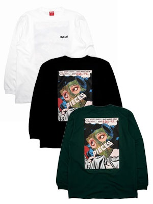 HIGH LIFE(ハイライフ)/ PIECES L/S TEE