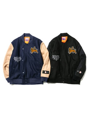 IRIE by irielife(アイリーバイアイリーライフ)/ IRIE LION STADIUM JACKET
