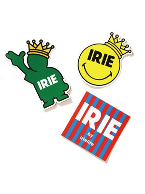 IRIE by irielife(アイリーバイアイリーライフ)/ IRIE WATERPROOF STICKER