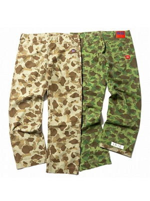 IRIE by irielife(アイリーバイアイリーライフ)/ IRIE HUNTER CAMO PANTS
