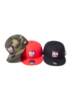 IRIE by irielife(アイリーバイアイリーライフ)/ x NEW ERA IRIE BOX LOGO CAP