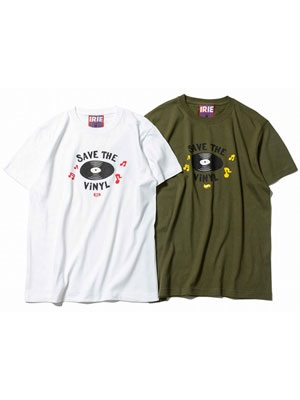 IRIE by irielife(アイリーバイアイリーライフ)/ SAVE THE VINYL TEE