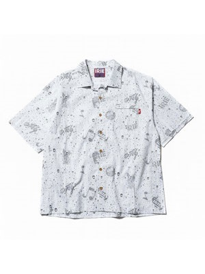 IRIE by irielife(アイリーバイアイリーライフ)/ IRIE SPLASH S/S SHIRT -WHITE-