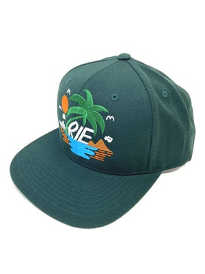 IRIE by irielife(アイリーバイアイリーライフ)/ THE ISLAND CAP -D.GREEN-