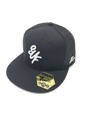 7UNION(セブンユニオン)/ SUF FITTED CAP -BLACK-