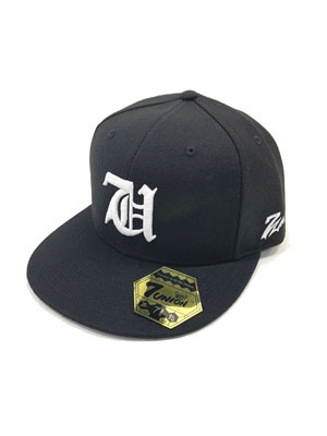 7UNION(セブンユニオン)/ 7's IVY FITTED CAP -BLACK-