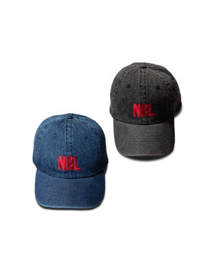 NINE RULAZ(ナインルーラーズ)/ NRL DENIM DAD`S CAP