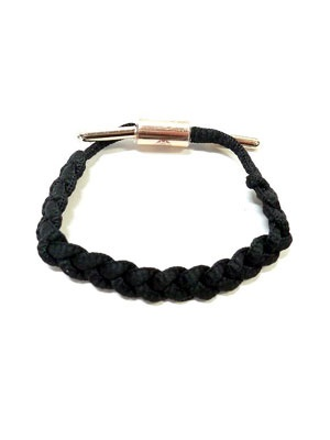 RASTACLAT(ラスタクラット)/ BRAIDED BRACELET LAURYN -BLACK/GOLD-