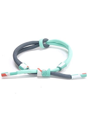 RASTACLAT(ラスタクラット)/ KNOTTED BRACELET FORESIGHT -TURQUOISE-
