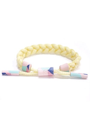 RASTACLAT(ラスタクラット)/ BRAIDED BRACELET SHARP REALITY -YELLOW-