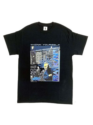 "SPECIAL 1(スペシャルワン)/ THINK YOUR SELF ""RANKIN TAXI""TC TEE -BLACK-"